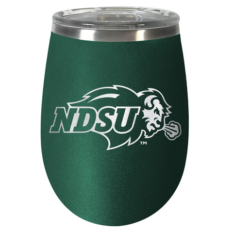 NDSU Bison Green Team Colored Wine Tumbler - One Herd
