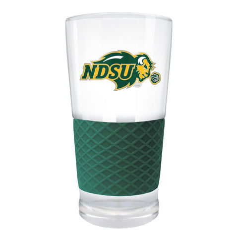 NDSU Bison Green The Score Pint Glass - One Herd