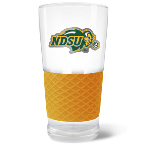 NDSU Bison Gold The Score Pint Glass - One Herd