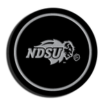 NDSU Bison Black Acrylic Coaster Set
