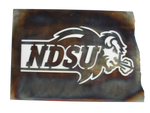 NDSU Bison Snort Logo Wall Hanging - One Herd