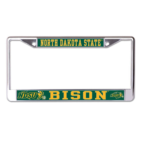 NDSU Bison License Plate Frame