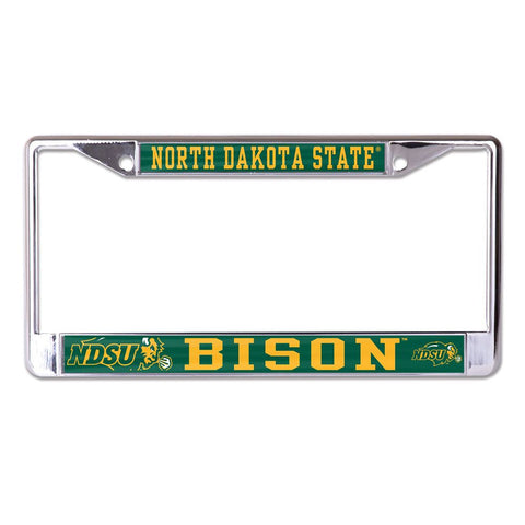 NDSU Bison Stripe License Plate Frame