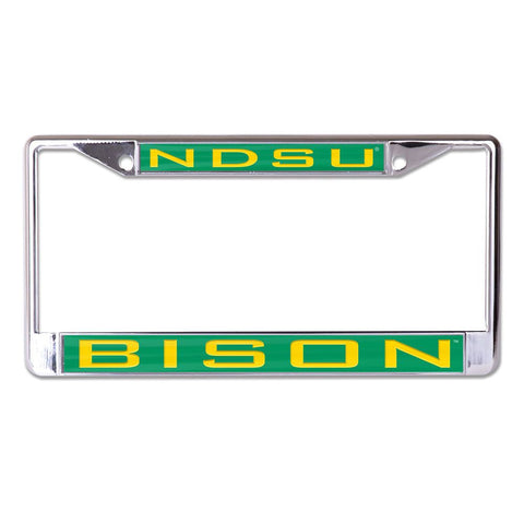 NDSU Bison Metallic License Plate Frame