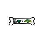 NDSU Bison Dog Car Magnet