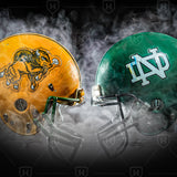 A Housed Divided NDSU vs. UND Canvas Print - One Herd