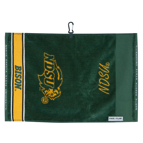 NDSU Face/Club Towel - Jacquard - One Herd