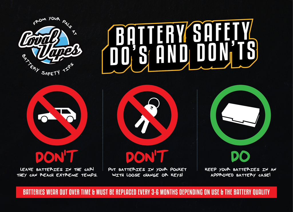 Coval Vapes Battery Safety Card Part 2