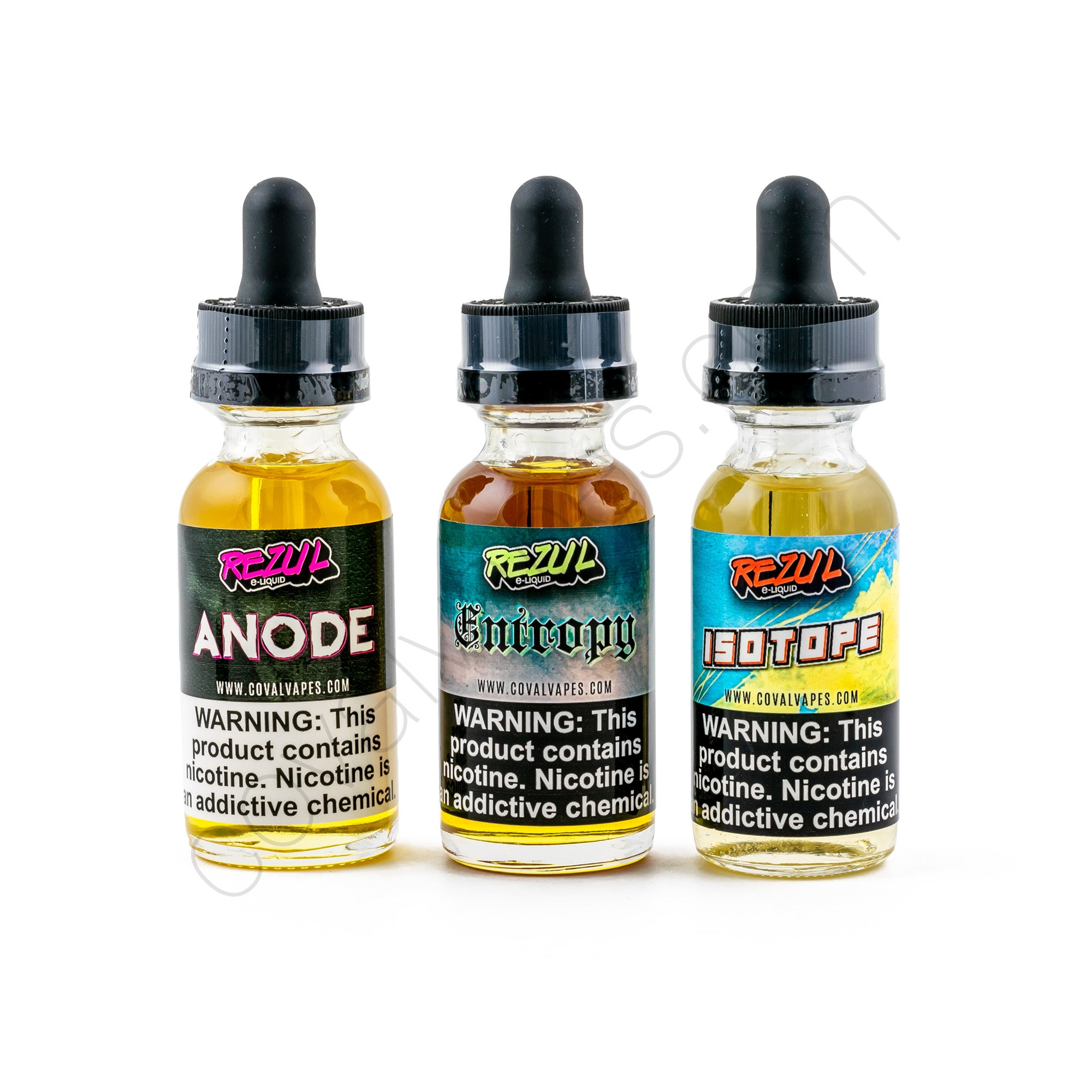 Rezul E-Liquid Sample Pack - 30ml