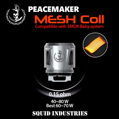 Squid Industries Peacemaker Mesh Coil (5-Pack)