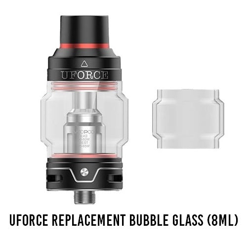 8ml Replacement Bubble Glass Kit (3-Pack) w/Adapter