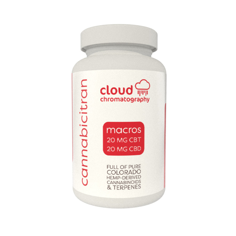 Cloud Chromatography Full Spectrum CBD-CBT Capsules