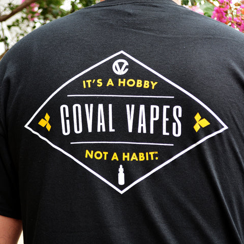 "Coval Vapes ""Diamond Back"" Tee"