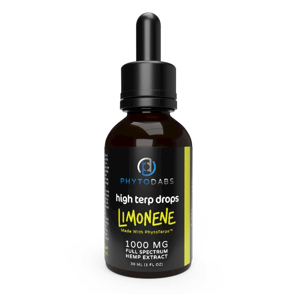PhytoDabs High Terp Drops - Full Spectrum CBD Drops w/ PhytoTerps - Limonene