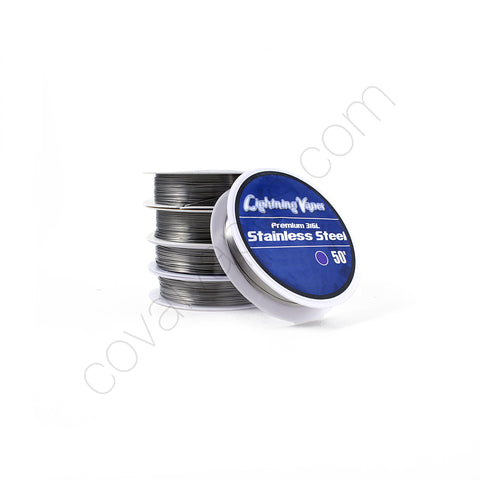 Premium 316L Stainless Steel Wire (50')
