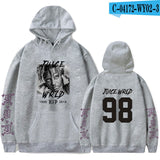 Rapper Juice Wrld Hoodies Men Women Hip Hop Sweatshirts Streetwear Fashion Hoodies Popular Hooded Pullovers Rip Juice Wrld Hoody