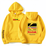Japanese Hip Hop Winter Hoody Harajuku kodak Jackets Men Women Sweatshirts