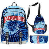 Backwoods Backpack Cool And Simple 3pcs Set With USB Charging