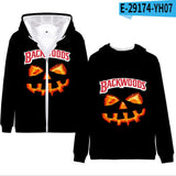 BACKWOODS 3D Printed Kids Hoodies  Zip Up Hoodie Sweatshirt Boys Girls Teenage Cartoon Jacket Coat Children Clothes