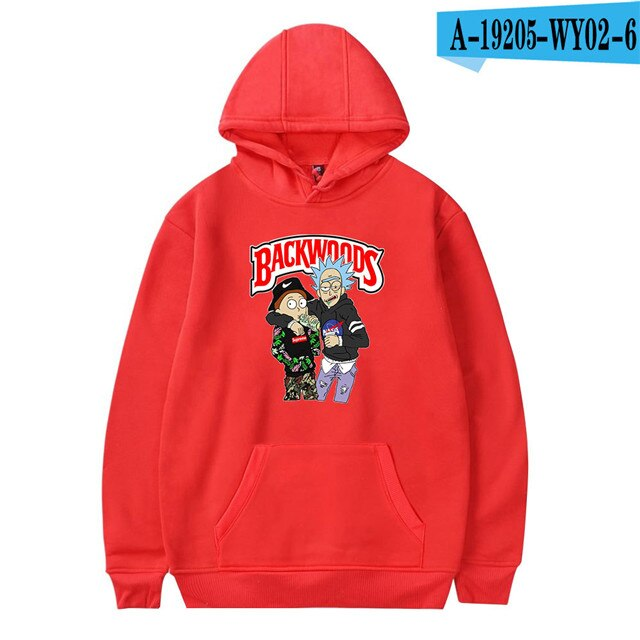 Backwoods Hoodie Honey Berry Printed Fashion Hoodies Casual Sweatshirt Plus Size Long Sleeve Jacket Coat