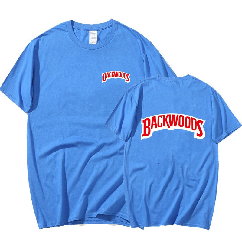 BACKWOODS T Shirt Summer Men  printing  Fashion Men Short Sleeve O Neck T-Shirt  Cotton Hip Hop Streetwear Men Clothing