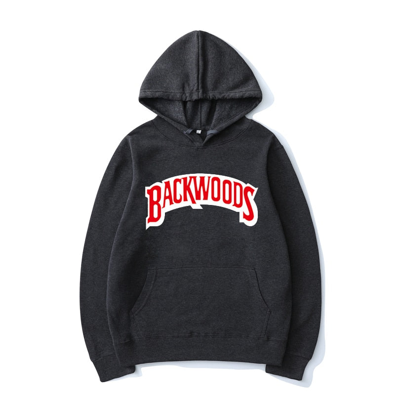 BACKWOODS Hooded Printing Men/Women Fashion Hooded Sweatshirt Hoodie Harajuku Hip Hop Pullover Top