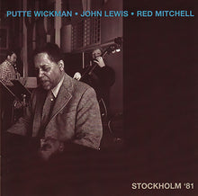 Load image into Gallery viewer, PUTTE WICKMAN JOHN LEWIS RED MITCHELL - Stockholm '81