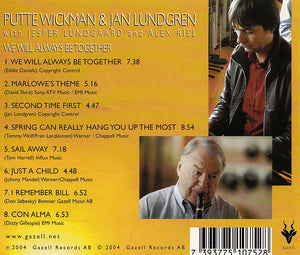 PUTTE WICKMAN & JAN LUNDGREN - We Will Always Be Together