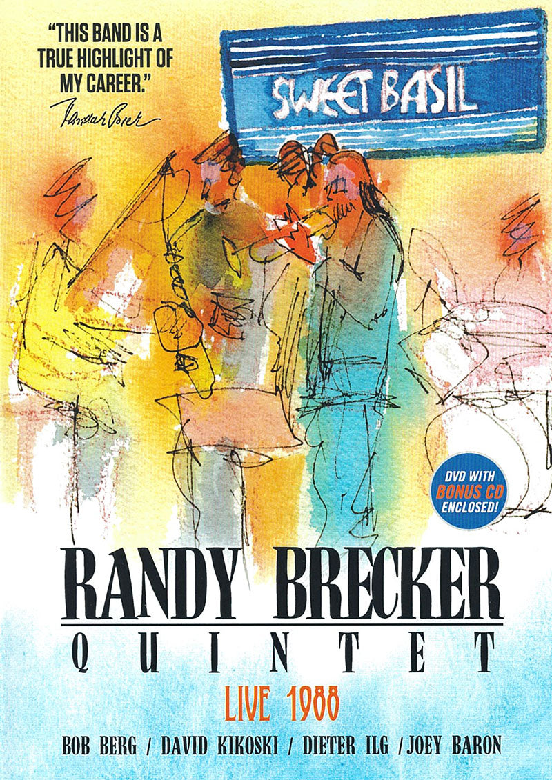 LIVE AT SWEET BASIL 1988 - RANDY BRECKER QUINTET