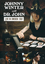 Load image into Gallery viewer, LIVE IN SWEDEN 1987 - JOHNNY WINTER WITH DR. JOHN