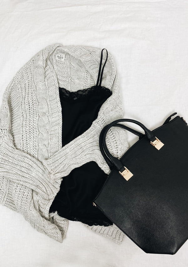 outfit donna con cardigan