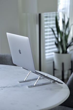 H/O Aluminum Portable and Adjustable Laptop Stand 2020