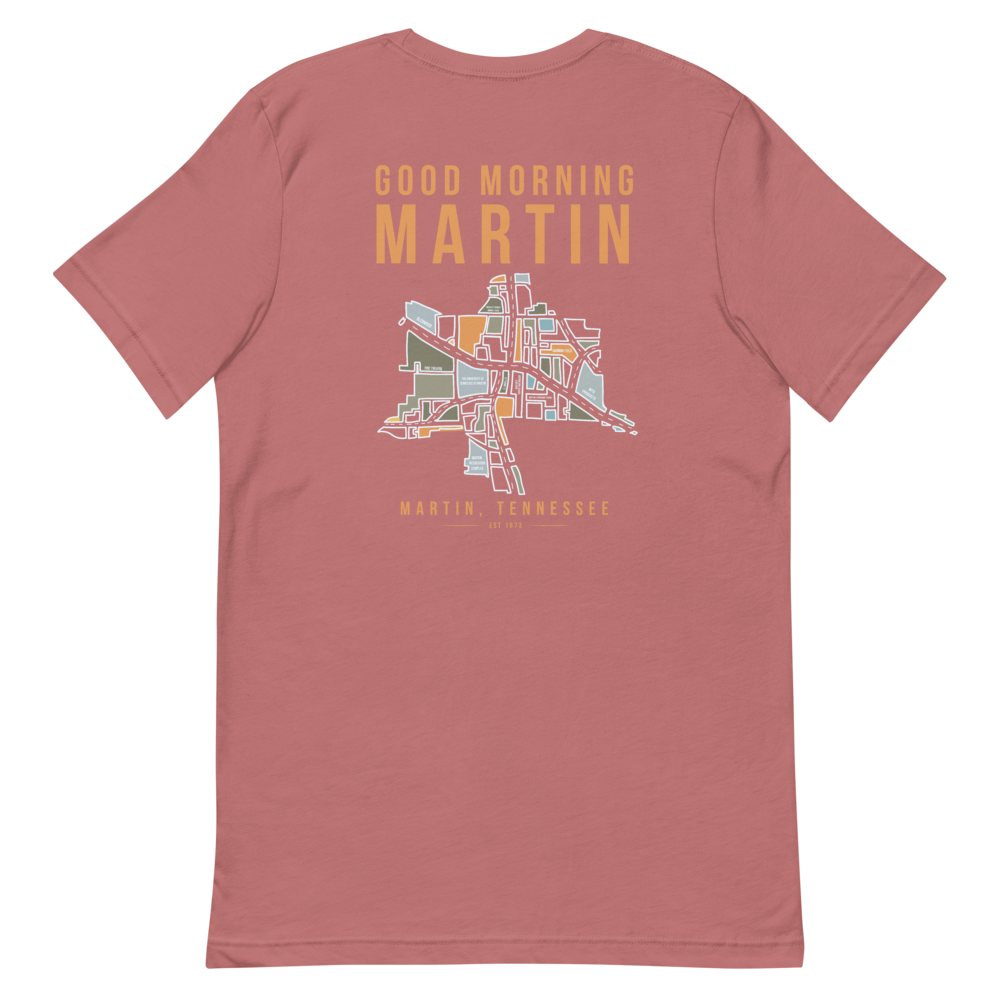 Good Morning Martin Map T-shirt