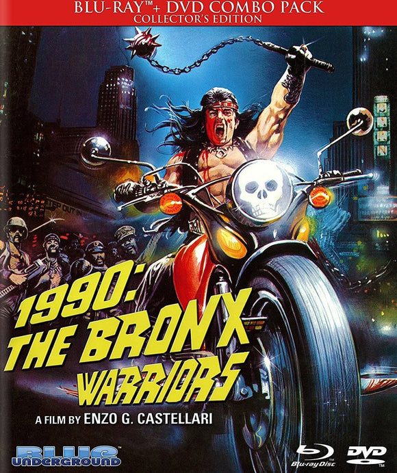 1990: The Bronx Warriors (Blu-ray/DVD)