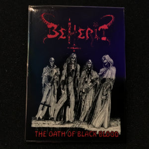 BEHERIT Oath of the Black Blood pin