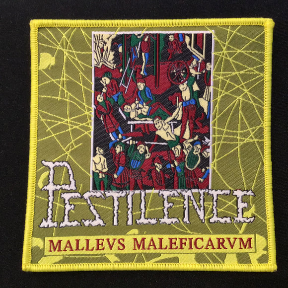 PESTILENCE Malleus Maleficarum patch