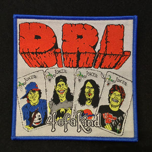 D.R.I. Four of a Kind patch