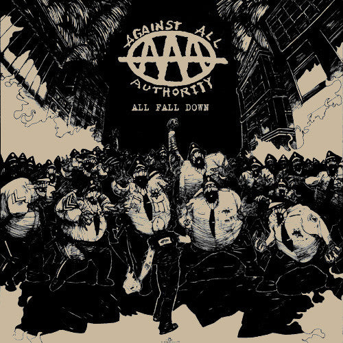 AGAINST ALL AUTHORITY - All Fall Down LP (used)
