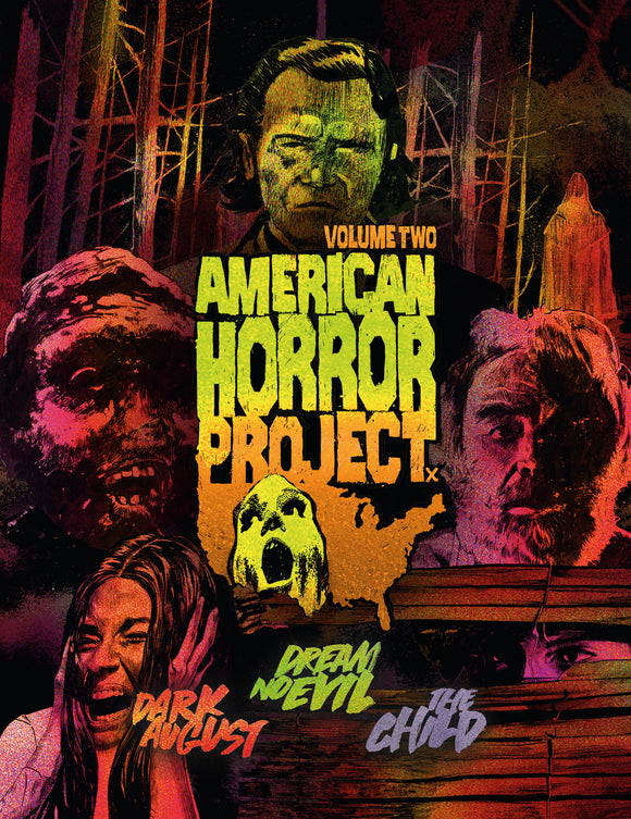 American Horror Project Vol. 2 (Blu-ray boxset)