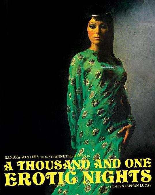 A Thousand and One Erotic Nights (Blu-ray/DVD w/ slipcover)
