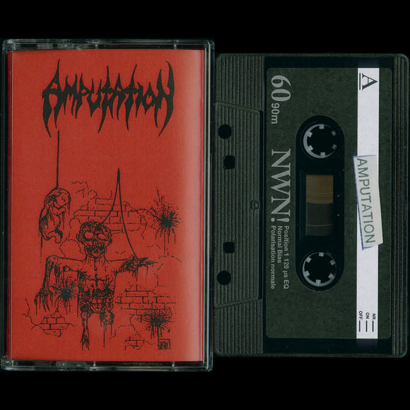 AMPUTATION -Slaughtered in the Arms of God cassette
