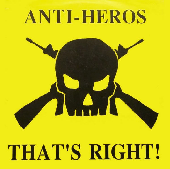 Anti-Heros - That's Right LP (used)
