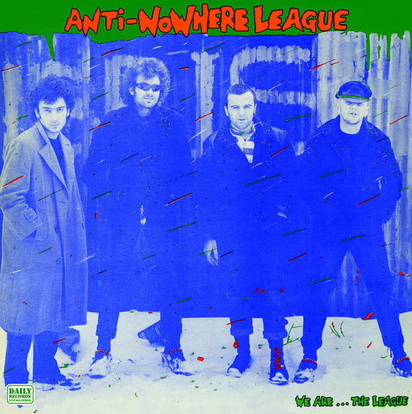ANTI-NOWHERE LEAGUE - We Are... The League LP