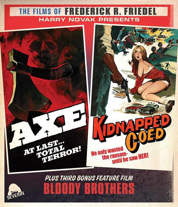 Axe / Kidnapped Coed (Blu-ray/CD)
