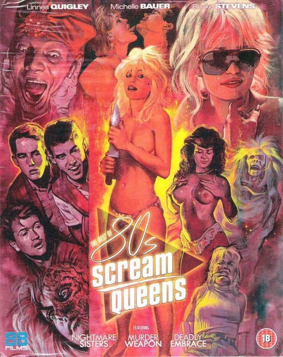 The Best of 80's Scream Queens (Blu-ray)