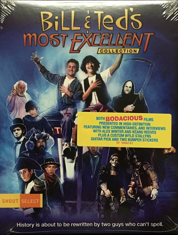 Bill & Ted's Most Excellent Collection (Blu-ray w/ slipcover)