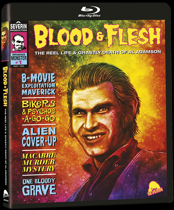Blood & Flesh: The Reel Life & Ghastly Death of Al Adamson (Blu-ray)