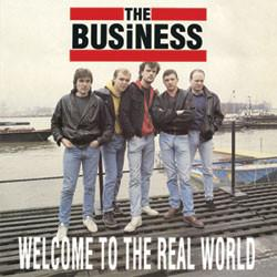 THE BUSINESS - Welcome to the Real World LP (used)