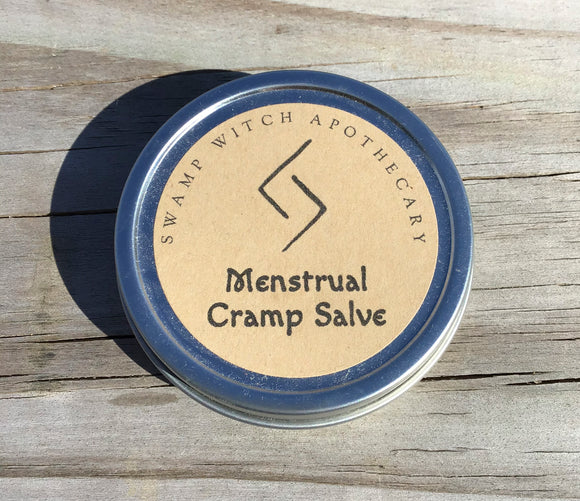 MENSTRUAL CRAMP SALVE by Swamp Witch Apothecary