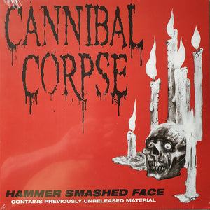 CANNIBAL CORPSE - Hammer Smashed Face LP (red)